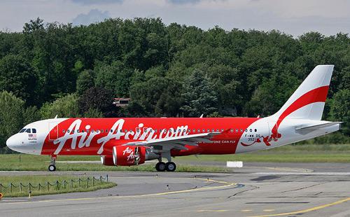 Airbus A320 компании AirAsia
