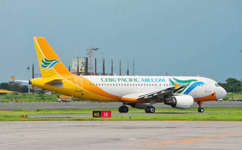 Airbus A320 компании Cebu Pacific