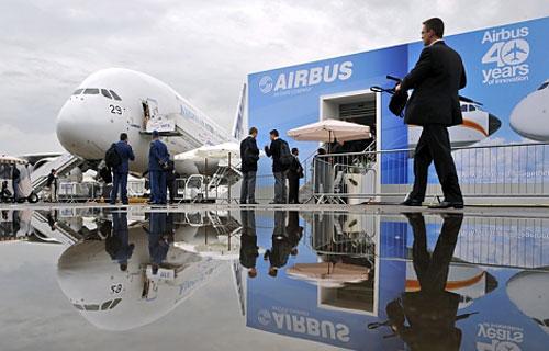 В Ле Бурже Airbus уже получил заказы на 300 самолетов