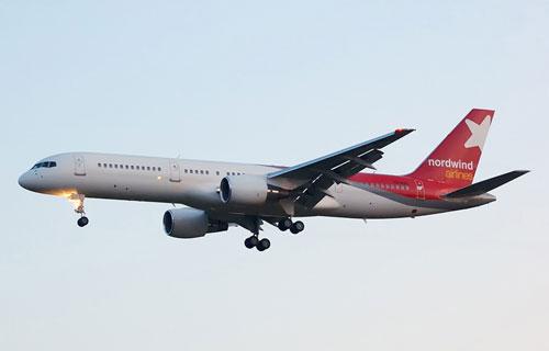 Боинг 757 компании Nord Wind