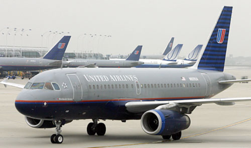 Компьютерный сбой сорвал работу авиакомпании United Airlines