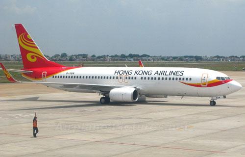 Самолет компании Hong Kong Airlines