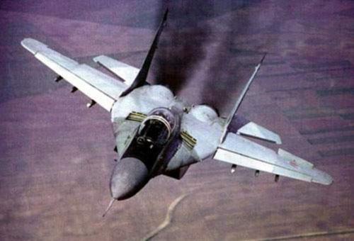 В Астраханской области потерпел крушение истребитель МиГ-29