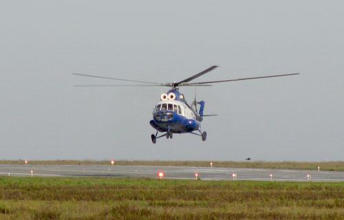 В Ростове лазерные хулиганы ослепили экипаж вертолета Ми-8