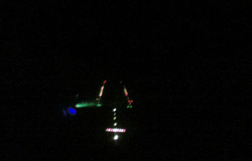 В Сочи пилотов пассажирского Боинга ослепили лазером