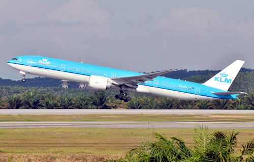 Самолеты авиакомпании KLM