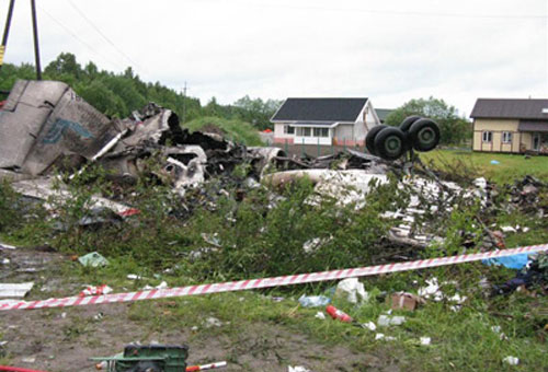Авиакатастрофа Ту-134 компании РусЭйр в Карелии
