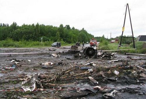 Подробности авиакатастрофы Ту-134 под Петрозаводском