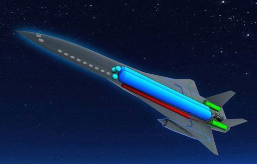 Airbus представил проект пассажирского сверхзвукового самолета Zehst