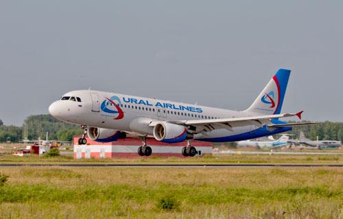 В Екатеринбурге вынужденно сел Аэробус А320 Уральских авиалиний