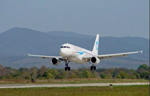 Airbus A320 компании Владивосток-Авиа