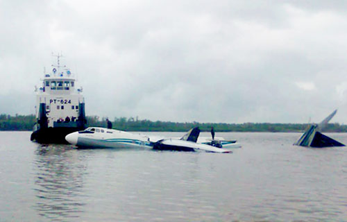 Названа предварительная причина аварийной посадки Ан-24 на Обь