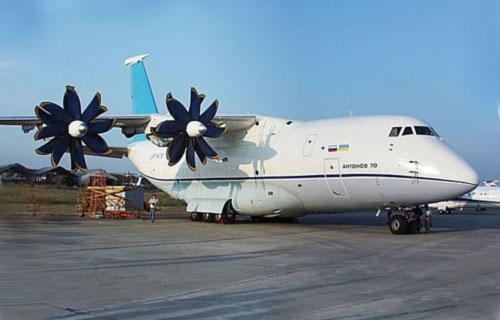 Россия приобрела у Украины первый самолет Ан-70