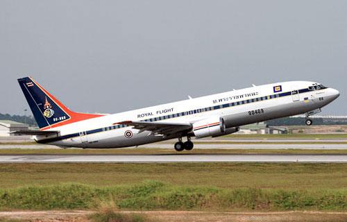 Boeing 737 авиакомпании Thai