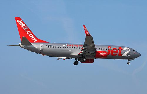Boeing 738 авиакомпании Jet2