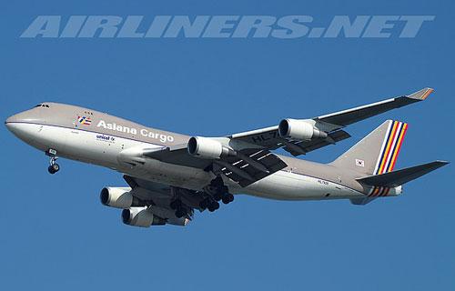 Грузовой Boeing 747 компании Asiana Airlines рухнул в море