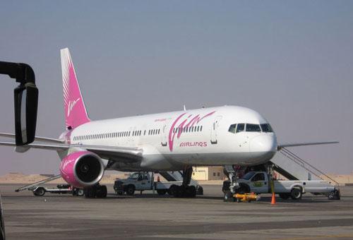 Boeing 757-200 авиакомпании ВИМ-АВИА