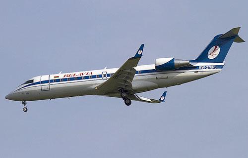 CRJ-100 авиакомпании Белавиа