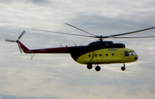 В Иркутской области потерпел крушение вертолет Ми-8 компании UTair