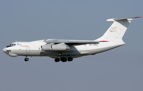 Ил-76 авиакомпании RUS Aviation