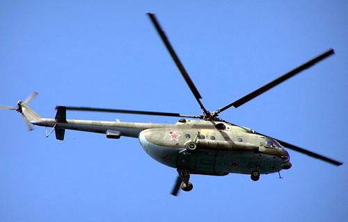 На Чукотке потерпел крушение вертолет Ми-8