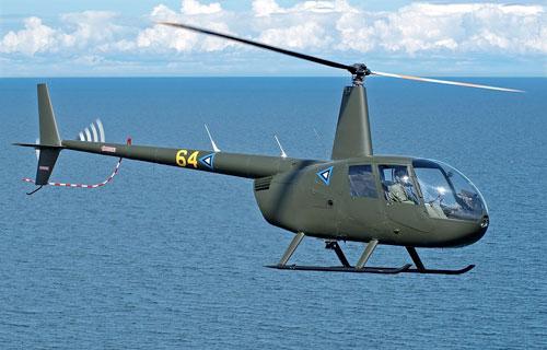 Robinson R-44 упал в Енисей