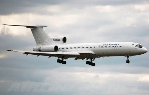 В Абакане аварийно сел Ту-154 с отказавшим двигателем