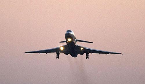В Махачкале совершил аварийную посадку Ту-154