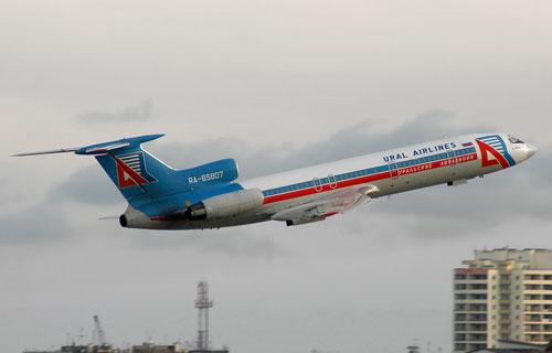 Ту-154 компании Уральские Авиалинии