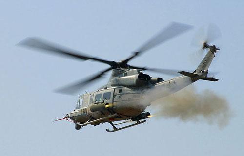 В Калифорнии разбился военный вертолет UH-1Y Yankee Huey