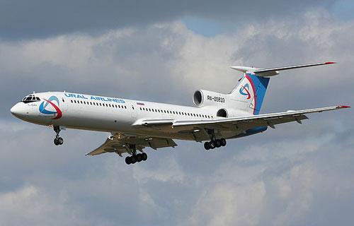 Уральские авиалинии вскоре откажутся от самолетов Ту-154