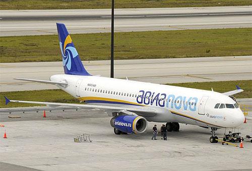 Самолет компании Авианова