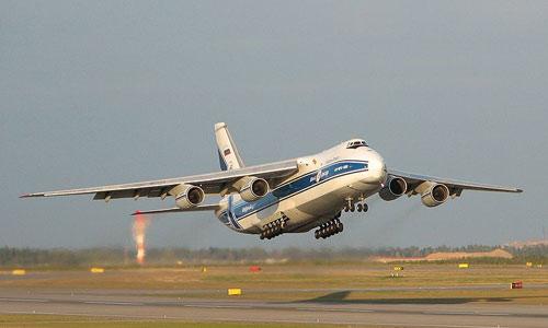 Посадка Ан-124 Руслан