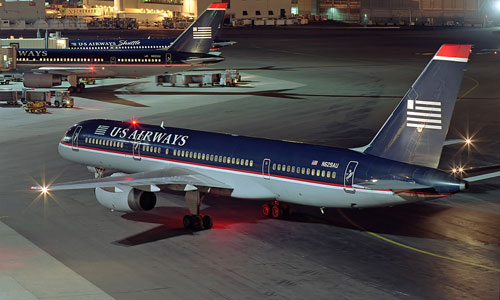 Boeing 757 авиакомпании US Airways