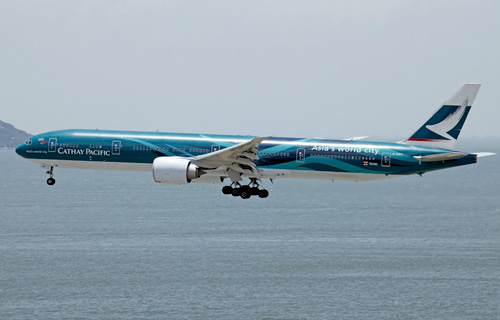 Boeing 777 авиакомпании Cathay Pacific Airways