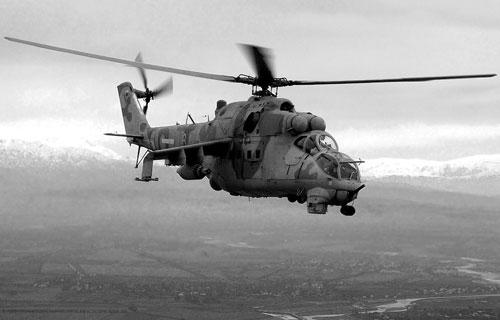 В Приморье потерпел крушение вертолет Ми-24