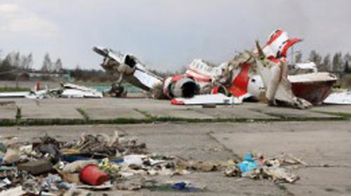 Обломки польского Ту-154