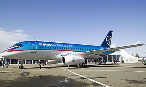 Фото лайнера Sukhoi Superjet