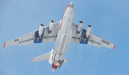 В Ярославской области аварийно сел грузовой Ил-76