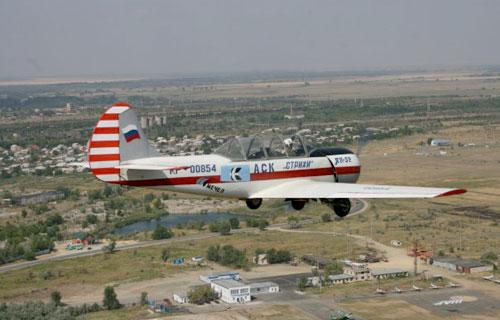 В Подмосковье разбился спортивный самолет Як-52
