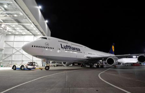 Новый Boeing 747-8 Intercontinental компании Lufthansa