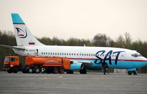 Boeing 737 Сахалинских авиалиний