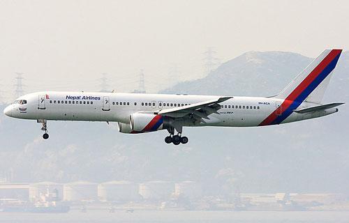 Boeing 757 авиакомпании Nepal Airlines