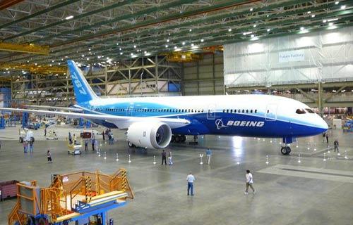 Первый Boeing 787 Dreamliner отправляется к заказчику ANA