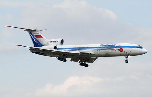 Фото самолета Ту-154 авиакомпании Сибирь