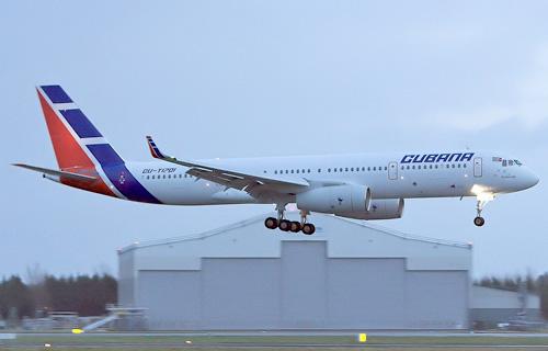 Ту-204 авиакомпании Cubana
