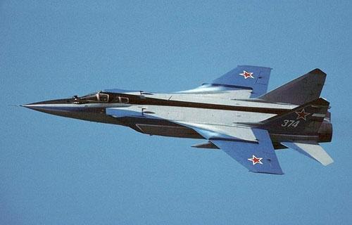 В Пермском крае потерпел крушение МиГ-31