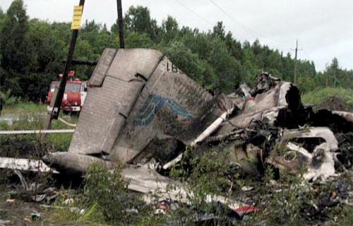 Штурман разбившегося под Петрозаводском Ту-134 был пьян