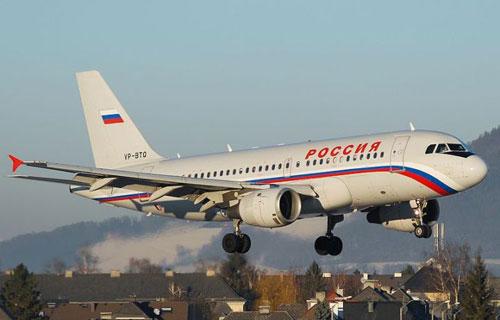 Фото Airbus A319 авиакомпании Россия
