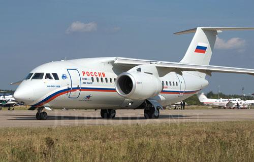 Ан-148 вынужденно сел в Симферополе из-за отказавшего двигателя